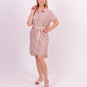 שמלה עם חגורה